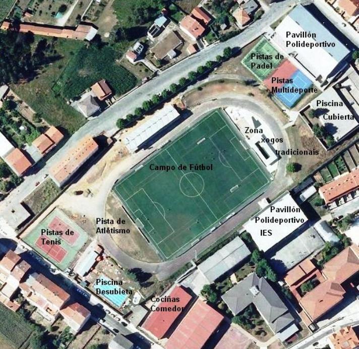 Instalacións para o Campus Insua Quintela